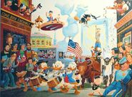 July fourth in duckburg