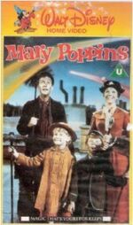 Mary Poppins 1986 UK VHS