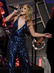 Olivia Holt performs at NASCAR Sprint Cup Awards