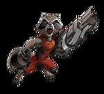 Rocket Animated Render 01