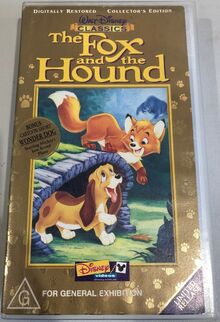 The Fox and the Hound 2001 AUS VHS