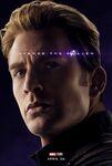 Avengers Endgame - Captain America poster