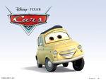 Cars Characters 09 Luigi