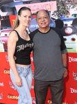 Cheech Marin & wife Natasha Rubin Cars Land grand opening