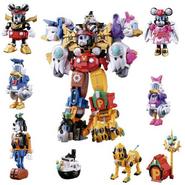 Cho Gattai King Robo Mickey Friends Image