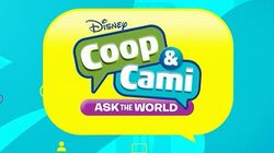 Coop & Cami Ask the World Promotional Logo