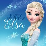 Elsa Birthday post