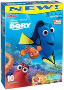 Finding Dory Fruit snacks