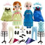 Frozen Anna and Elsa 2014 Disney Animators Doll Set