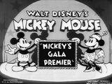 Mickey's Gala Premiere