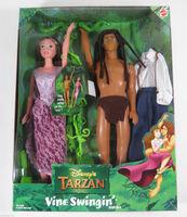 Jane and tarzan doll