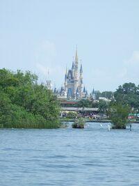 Magic Kingdom - Castle from Lagoon