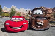 Mater and McQueen Radiator Springs