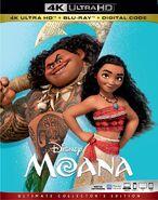 Moana 4KUHD Blu-ray