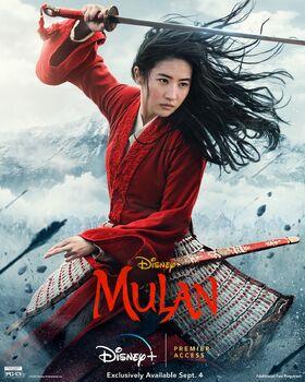Mulan (2020, Disney Premier Access Poster)