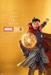 Poster gold drstrange