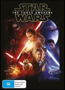Star Wars The Force Awakens 2016 AUS DVD