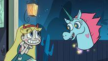 Star and Pony Head