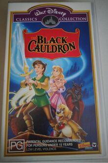 The Black Cauldron 2000 AUS VHS