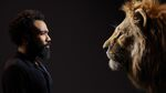 The Lion King (2019) - Donald Glover with Simba