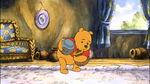 Winnie the Pooh is gathering honey pots