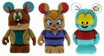 Chip n Dale Rescue Rangers Disney Afternoon Vinylmation 3 Pack Monterey Jack Gadget Hackwrench Zipper
