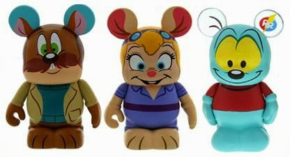 image chip n dale rescue rangers disney afternoon vinylmation 3