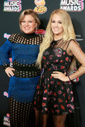 Kelly Clarkson & Carrie Underwood Radio Disney Music Awards