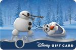 Olaf Disney Gift Card