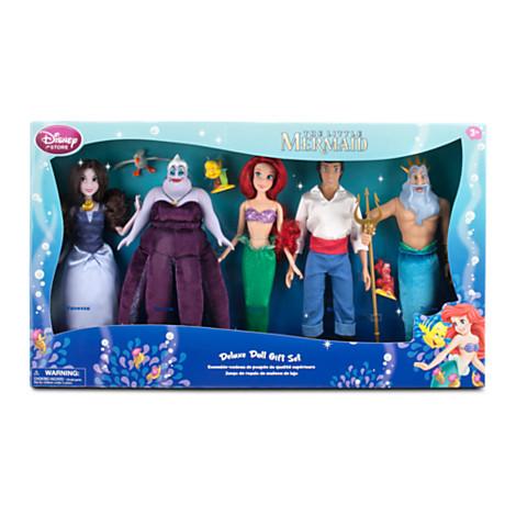 File:The Little Mermaid 2013 Disney Store Doll Set Boxed.jpg