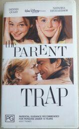 The Parent Trap Remake 2000 AUS VHS