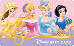 Disney Princess Easter Gift Card
