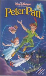Peter Pan 1993 Germany VHS