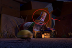 Pizza planet cup in bugs life
