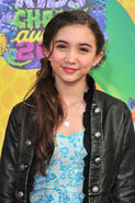 Rowan Blanchard at Nick KCA