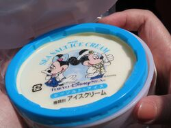 Sea Salt Ice-Cream Mickey and Minnie