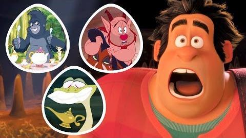 10 Easter eggs Disney Movies