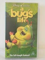 A Bugs Life (1999 UK VHS) (Heimlich)