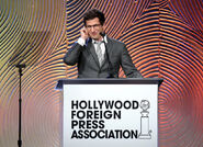 Andy Samberg at Hollywood Foreign Press Assoc
