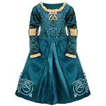 Princess Merida Brave Adventure Costume Dress