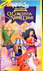 The Hunchback of Notre Dame Brazil VHS