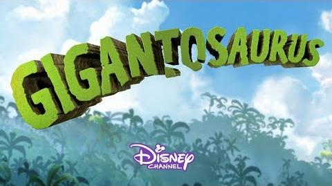 Theme Song Sneak Peek Gigantosaurus Disney Junior