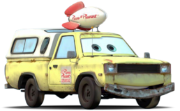 Todd, the pizza planet truck