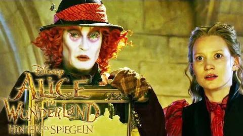 ALICE IM WUNDERLAND Hinter den Spiegeln - Beeilung - Ab 26. Mai im Kino Disney HD