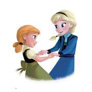 Anna & Elsa's Childhood Times 6