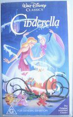Cinderella 1992 AUS VHS