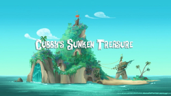 Cubby's Sunken Treasure title card