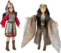 Disney Mulan and Xianniang Dolls
