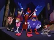 Gosalyn with Mutant Heroes