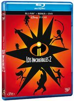 Incredibles 2 DVD and Blu-ray México